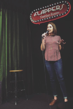 Kaycee at Flappers in Burbank